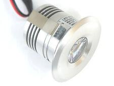 LED-High-Power-Minspot Einbaustrahler 3Watt warmweiss Beleuchtung Alu Trafo Spot