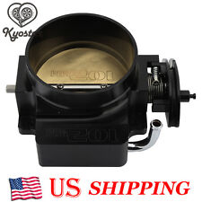 102mm Throttle Body only Black LS1 LS2 LS3 GM Gen III  LS6 LS LS7 SX Bolt Cable