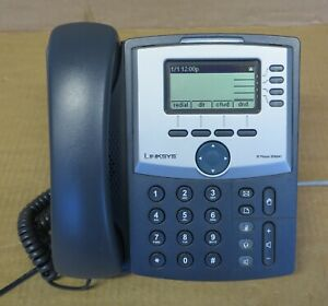 Linksys SPA941 4-Line VoIP IP Business Desktop Display Telephone With Stand