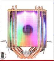 CPU Cooler Heatsink Fan for Intel LGA2011 140W processor with multicolor fan