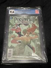 CGC 9.6 Poison Ivy Cycle of Life and Death #1 variant 4-6