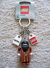 LEGO Harry Potter Key Chain - Rare - Original Hagrid Keychain - New w/ Tags
