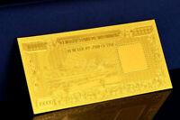 """★★ BIRMANIE MYANMAR BURMA : BILLET POLYMER  """" OR """" DE 10000 KYAT ★★"""