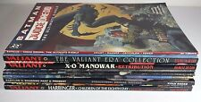 GREAT QUALITY JOB LOT OF 9 VARIOUS GRAPHIC STYLE COMIC BOOKS DC VALIANT