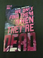 WE ONLY FIND THEM WHEN THEY'RE DEAD #2 - SIMONE DI MEO MAIN COVER - BOOM!/2020