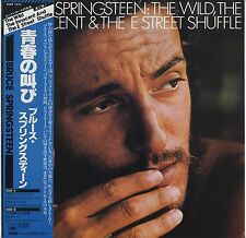 Bruce Springsteen - The Wild, The Innocent & The E Street Shuffle JAPAN LP w/OBI