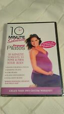 10 Minute Solution PRENATAL PILATES fit healthy pregnant flat belly fast NEW DVD