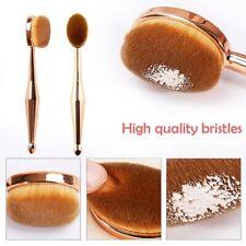 Rose Gold Toothbrush Oval Shape Professional Foundation Concealer Brush