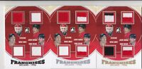 13-14 ITG Decades Belfour Goulet Roenick Chelios /10 Jersey GOLD Franchises 2013