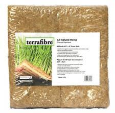 Terrafibre Hemp Grow Mat - Perfect for Microgreens, Wheatgrass, Sprouts - 40...