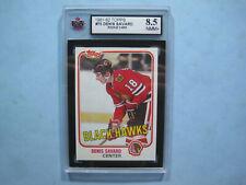 1981/82 TOPPS NHL HOCKEY CARD #75 DENIS SAVARD ROOKIE KSA 8.5 NM/MINT+ SHARP!!