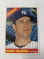 2015 Topps Heritage Baseball Mark Teixeira New York Yankees Card #21