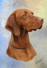 Hungarian Vizsla A6 Blank Card No 3 By Starprint