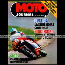 MOTO JOURNAL N°321 YAMAHA TY 125 HONDA TL CROSS VLADIMIR KAVINOV DANIEL PEAN '77