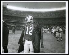 Joe Namath 1969 New York Football Jets NFL Type 1 Original Photo *Shea Stadium*