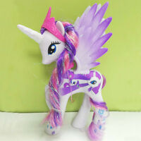 14CM Princess Rarity My Little Horse funny Cake Toppers Doll Action Figure Toy