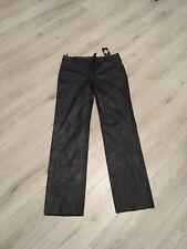 Ciudad de calidad premium de cuero para hombre Pantalones De Cuero Talla 36  Cintura Pierna sin cortar 7ebccfdb6d67