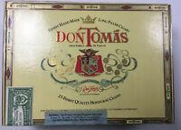 Don Tomas Corona Grande EMPTY WOODEN CIGAR BOX See Size In Description VINTAGE!
