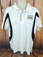 Earnhardt Ganassi Racing Chevrolet Crew White Polo Shirt Team Issued Large