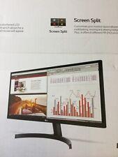 "LG 29"" UltraWide Full HD 2560x1080 21:9 IPS LED w/HDR 10 29WK50s Radeon Freesync"