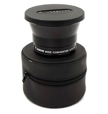 Genuine Canon WD55 55mm Wide Converter 0.7x Wide Angle Adapter