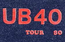 Vintage 80s 1980 UB40 Reggae Rock Concert Tour Raglan Sleeve Sweatshirt Shirt T