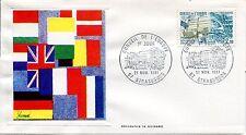 ESSAIE SERIGRAPHIE DE GUINARD  PREMIER JOUR 1981   CONSEIL DE L EUROPE