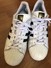 🔵 Adidas Originals Superstar Men's Size 13  Sneakers White Shell Toe Shoes
