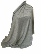 Nursing Cover Infinity Scarf Car Seat Cover/Canopy MELANGE GREY - NEW - UK STOCK