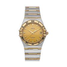 Omega Constellation Quartz Steel Yellow Gold Ladies Bracelet Watch 1212.10.00