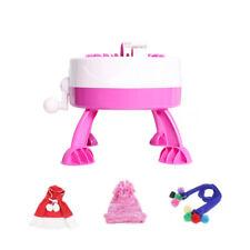 Child Knitting Machine Yarn Child Machine Knitted Sweater Gift DIY Hat Toy Craft
