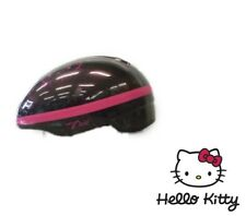 CASCO BICI BIMBA NERO HELLO KITTY IDEA REGALO