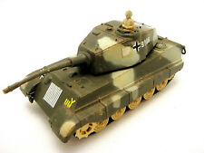 Vintage Durham Industries German King Tiger Tank Armored Vehicle Plastic