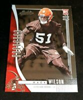 Mack WILSON Cleveland Browns 2019 PANINI ABSOLUTE RC ROOKIE CARD