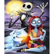 Halloween Jack&Sally Full Drill 5D Diamond Embroidery Painting Cross Stitch Us