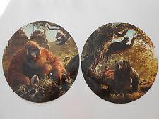 """2 PLV neuves rondes """"Le livre de la jungle"""" le film"""