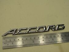 Honda Accord Coupe 98-01 CG2 3 3.0 V6 rear trunk boot badge accord badge logo