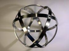 Genesa Crystal diametro 16 cm alluminio naturale argento profilo 1 cm