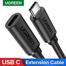Ugreen USB C Extension Cable Thunderbolt 3 Extender Cord for MacBook Pro Samsung