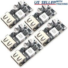 5pcs 24w Usb Qc 30 Fast Charge Step Down Buck Module Power 12v 24v Dc Input