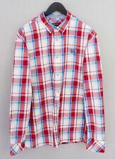 Men Napapijri Casual Shirt Check Cotton XXXL MIA76