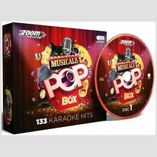 Karaoke CDG Discs Zoom Musicals Box Set, 6 CD+G Discs Broadway, West End, Movies