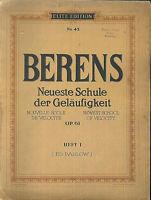 BERENS ~ Neueste Schule der Geläufigkeit OP. 61 - Heft 1