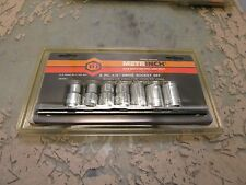 "Metrinch CR-V 8pc 1/2"" drive socket set SA008J metric & inch [3*D-23]"