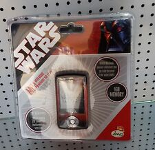 Star Wars LCD Monitor & Radio MP4 & MP3 Player 1GB Speicher NEU SELTEN