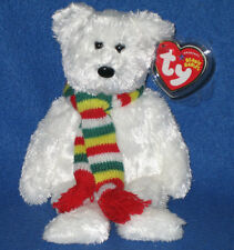 TY FLURRY the BEAR BEANIE BABY - LEARNING EXPRESS EXCLUSIVE - MINT with MINT TAG