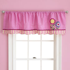 New Too Good by Jenny LOVE BUG  Window Valance 58x14 ~ Pink Flower NIP