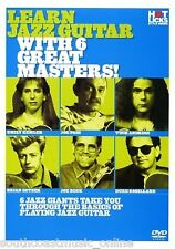 LEARN JAZZ GUITAR w 6 GREAT MASTERS HOT LICKS DVD HOT704 PASS ROBILLARD REMLER