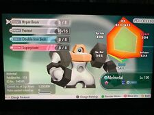 6IV Melmetal Shiny Lets go Pikachu Lets go Eevee Guide Battle Ready Legit