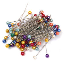 55 Pcs Sewing Pins Set Stainless Steel Needles Different Sizes Home DIY Craft HC